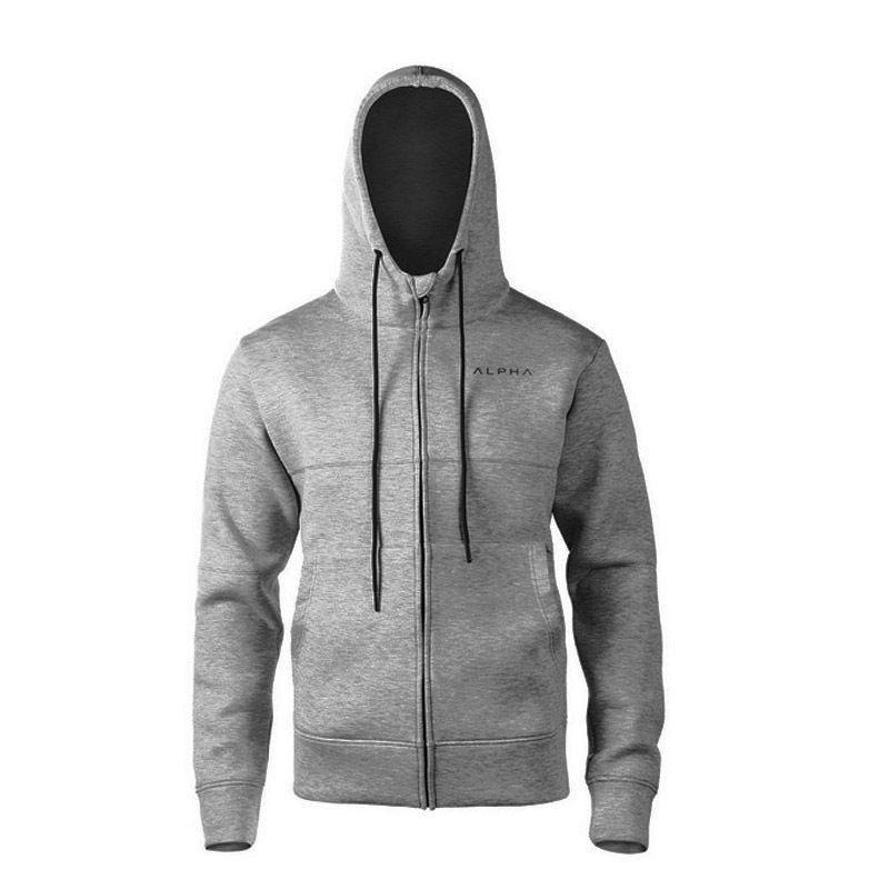 aa1a78d5e551f 2019 2Hot Sale 018 Muscle GYM Fall Winter 2018 Men S Fitness Long Sleeve  Hooded Zip Jacket Sport Jogger Sportwear Running Sweatshirts From Diegonovo