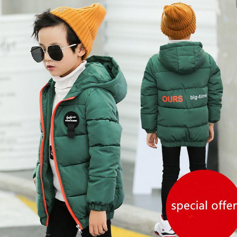 330231011 Boy Coat Thick Children 2018 New Boys Winter Down Jacket Cotton ...