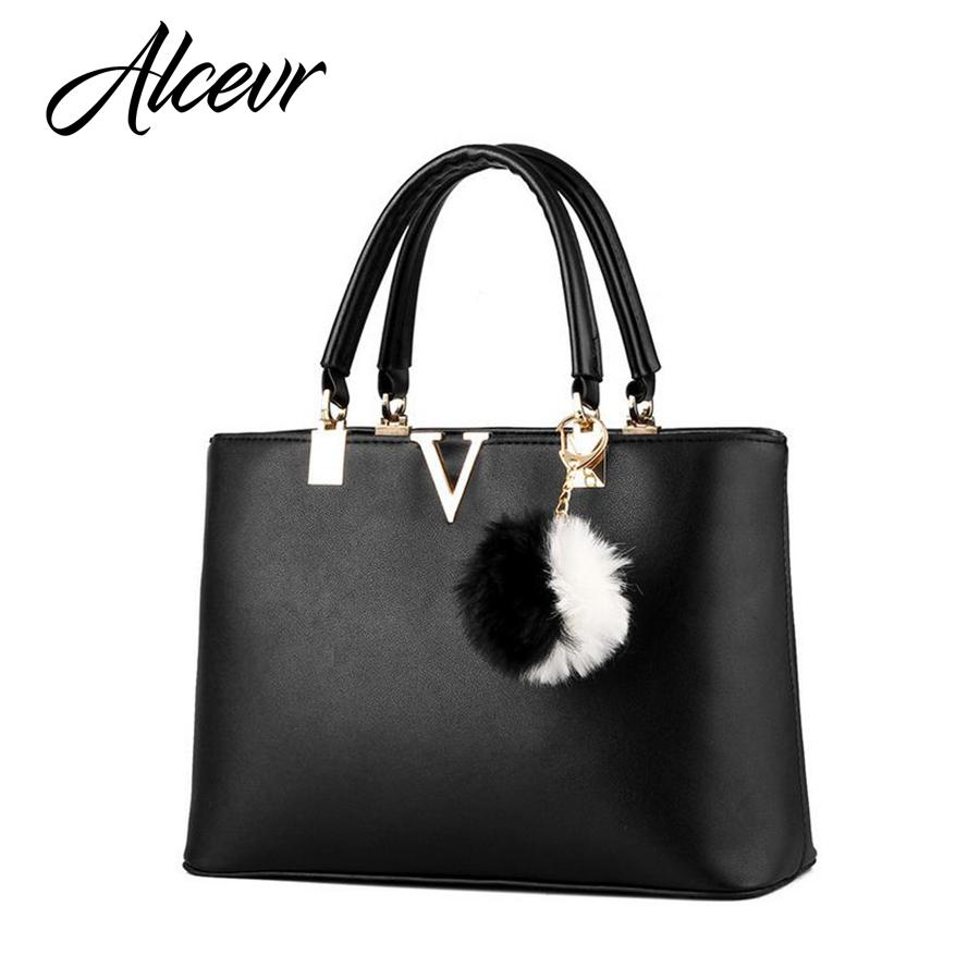ALCEVR Woman Handbags V Brand Leather Messenger Bags Female Evening Top  Handle Bags Luxury Handbags Women Designer Bolsa Laptop Bags Briefcase From  Murie 1b060e864971a