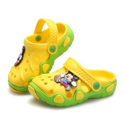 4f9e8f9e2 2017 New Cartoon Baby Beach Slipper Children Sandals Wholeas EVA Anti-slip  Girls Boys Slippers Summer Garden Shoes Child Slipper