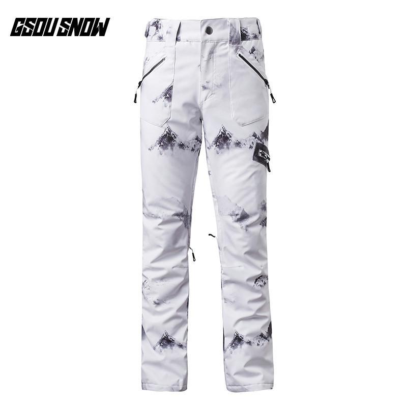f85377f37e GSOU SNOW Brand Ski Pants Women Skiing Snowboarding Pants Female ...