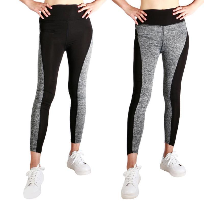 Pantalon Patchwork Course Femme xl Pentagramme Sexy De Fitness Élastique Yoga Femmes Imprimé Sport Mayuan520 QthxBoCrsd