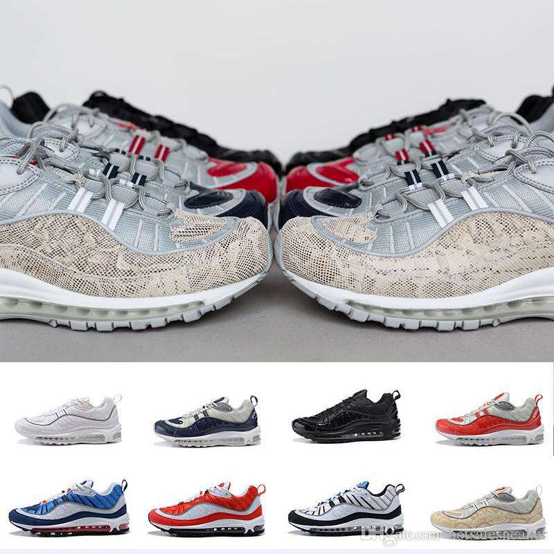 wiki sale online with box Arrival 98 Gundam Sports Running Shoes for High quality Men's 98s White Blue Red Black Outdoor Athletic Sneakers size size 40-46 really cheap online NBbv9Kp