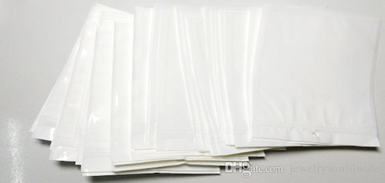 Clear White Plastic Poly OPP CPP Packaging Zipper Zip Lock Retail Packages Jewelry Plastic Bag Many Size Available