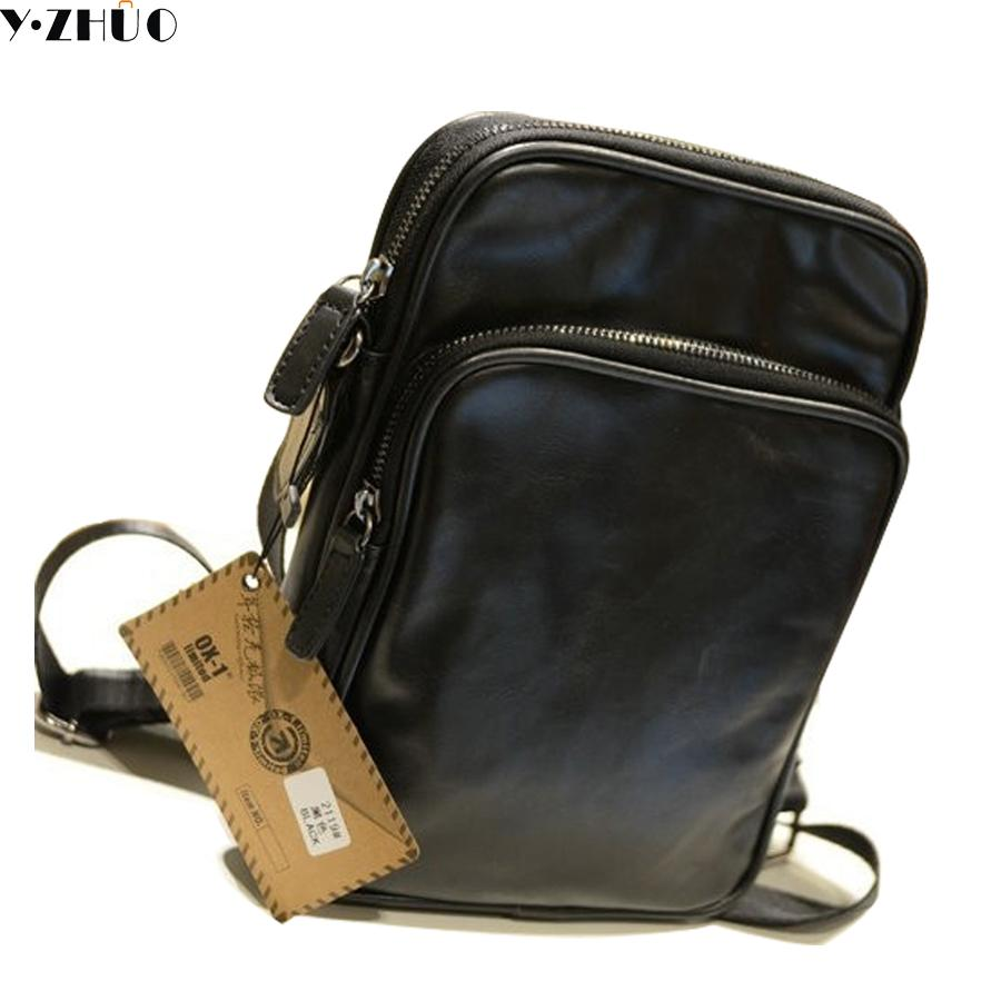 Leather Small Man Bag Vintage Men Messenger Bags Hot Sale Mens Crossbody  Bags Black Single Shoulder Bag Gift For Male Cross Body Purse Hobo Handbags  From ... 408ef6aefdf4a