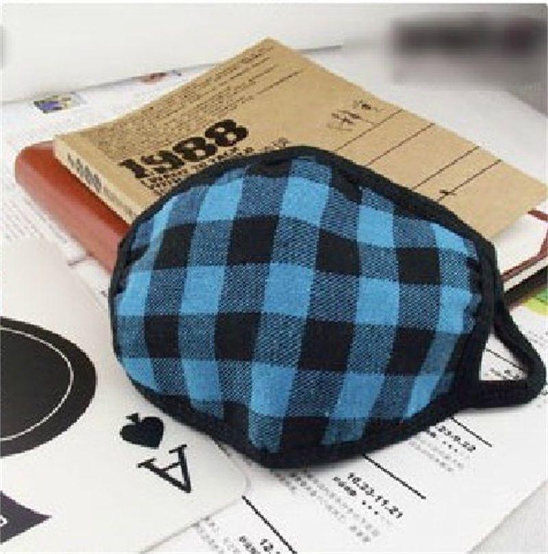 Face Mask Thickening Lattice Half Masks Whole Cotton Keep Warm Remove Dust Anti Haze Dustproof Hot Sale 0 58rc V