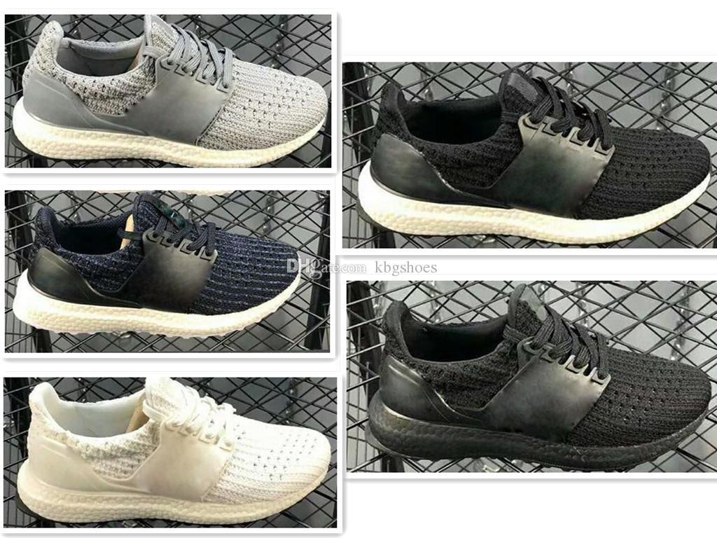 sports shoes 4645f ed8c1 Compre Adidas Ultra Boost 4.0 UB 4.0 Popcorn 2018 Niños Ultra 3.0 Running  Shoes Men 4.0 Triple Black White CNY Uncaged Kids Boy Ultra Popcorn Shoes  ...
