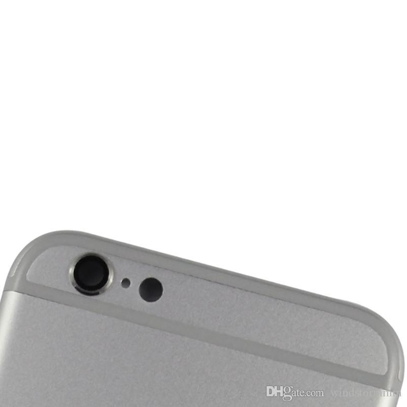 Metal Değiştirin Pil Kapı Konut Arka Kapak Kılıf Iphone 6 artı Ücretsiz DHL service.deliver 24 saat içinde mal