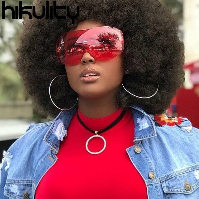 Compre Hikulity Marca Designer Sem Aro Uv400 Unisex Óculos De Sol Gradiente  Lens Moda Vintage Óculos De Armação Óculos De Sol Grande Quadro De Paner,  ... bc4650cde7