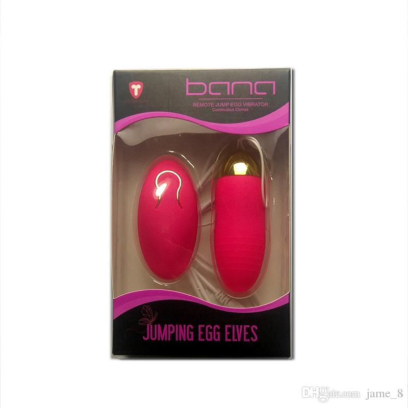 Wireless Remote Control USB Rechargeable Silicone Vibrator Love Egg Jump Egg Waterproof Clitoral Stimulation Sex Toy for Women
