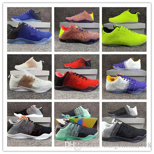 official photos d5e4e 16336 2018 Popular Kobe 11 XI Elite BHM Eulogy Black Cement Basketball Shoes Top  Quality KB 11s Mens Sports Sneakers Size 40 46 Shoes Kids Mens Basketball  Shoes ...
