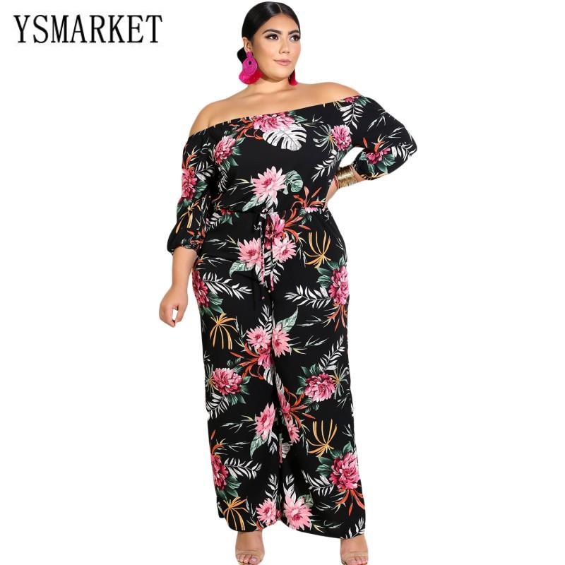 5701ca4117ca YSMARKET New Autumn Women Clothing Set Jumpsuits Rompers Black ...