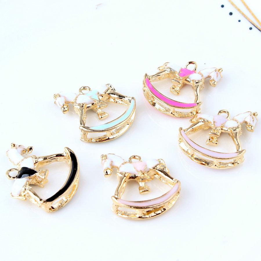 Jewelry Sets & More Colorful Horse Enamel Charms For Jewelry Making Alloy Dangle Charm Pendant Fit Diy Necklace Bracelet Drop Oil Accessories Craft Charms