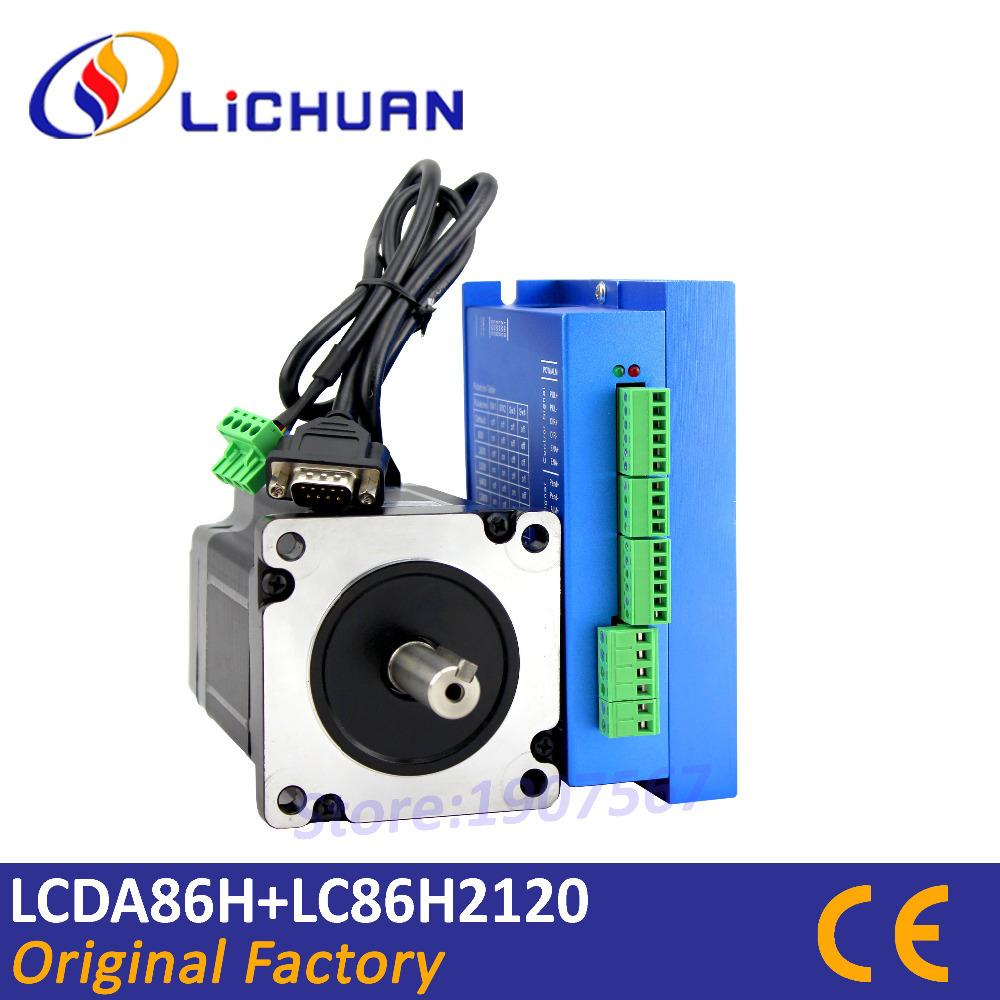 Stepper Motors Using This Circuit In Full Step Mode Through The Rs232 2018 Hot Sale Closed Loop Nema 34 Motor Lcda86h Lc86h2120 Servo 82nm Driver Cnc Controller 6a From Cncmachinery 12064 Dhgate