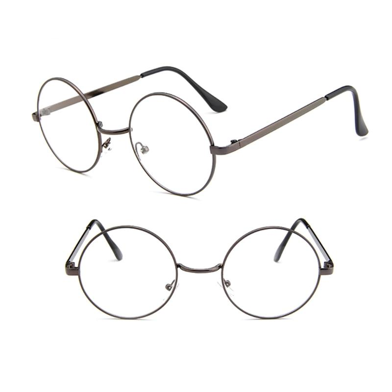 3628b4d4e58 Newest Vintage Men Women Retro Round Eyeglasses Frame Glasses ...