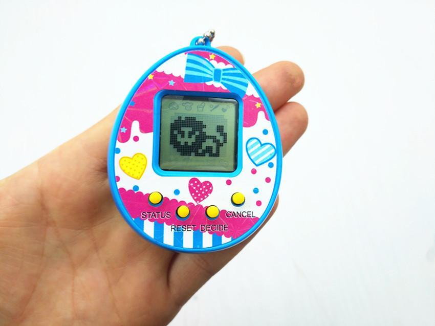 HOT Tamagotchis Eletrônico Animais de Estimação Brinquedos Nostálgicos Animais de Estimação Virtual Cyber Pet Toy para crianças Presente de Natal Multi cores