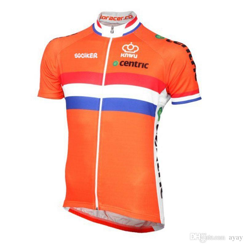 6592acf5b Pro Team Netherlands Ropa Ciclismo Summer Mens Quick-dry Cycling ...