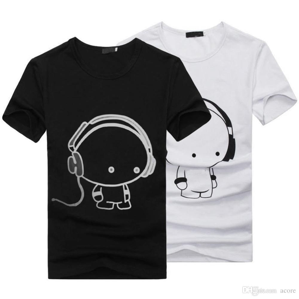 HOT 2018 New Summer Women Ladies Casual Cute Cartoon Print Funny T Shirt Soft Cotton Couple Clothes Best Friends Tshirt Cheap Z1