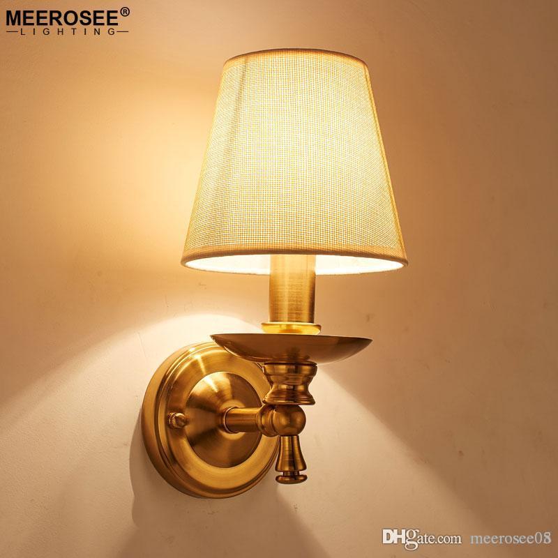 Großhandel Moderne Kreative Wandleuchte Wandleuchten Schlafzimmer  Wohnzimmer Wandlampen Gang Korridor American Style Halterung Beleuchtung  Von Meerosee05, ...