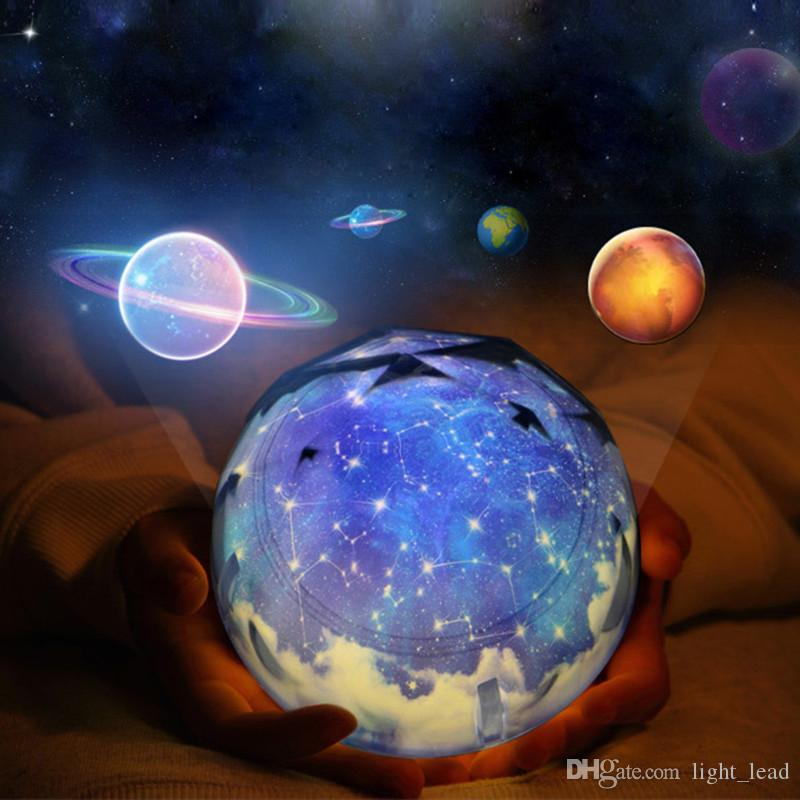 De Projecteur Lumière Lampe Univers Luminaria Océan Étoilé Cosmos Ciel Magique Pépinière Nuit Led Pour Bébé Étoile Anniversaire N8kn0XwOP
