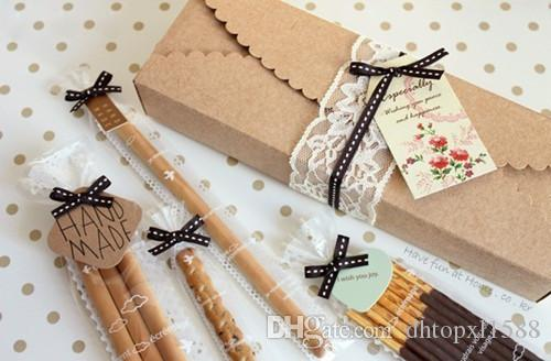 Kraft Paper Scalloped Small Box - Wedding/ Party Favor - Soap/ Cake/ Macaron/ Cookie Packaging - Gift Box