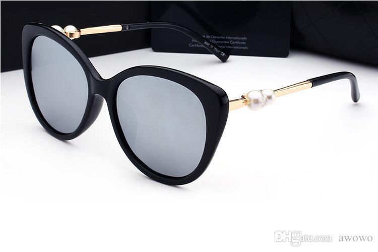 6943e31f8 Compre Famosa Marca Francesa Pérola 2039 Óculos De Sol Das Mulheres Moda  Polarizada UV400 Óculos De Sol Óculos De Condução Óculos De Condução Com  Caixa Do ...