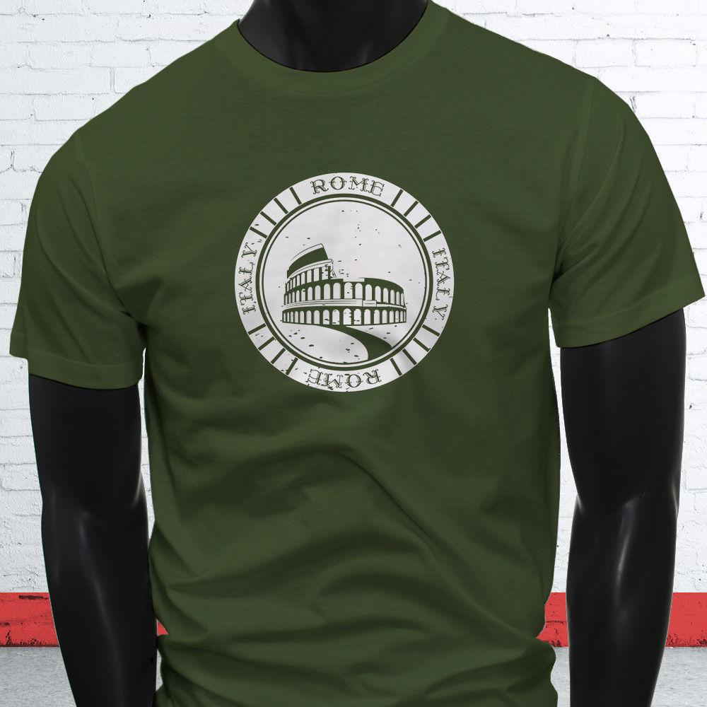 a11f8fe8 VINTAGE ROME ITALY COLOSSEUM LOVE PRIDE TOURIST Mens Military Green T Shirt  Jersey Print T Shirt Brand Shirts Jeans Print Amusing T Shirts With T Shirt  From ...