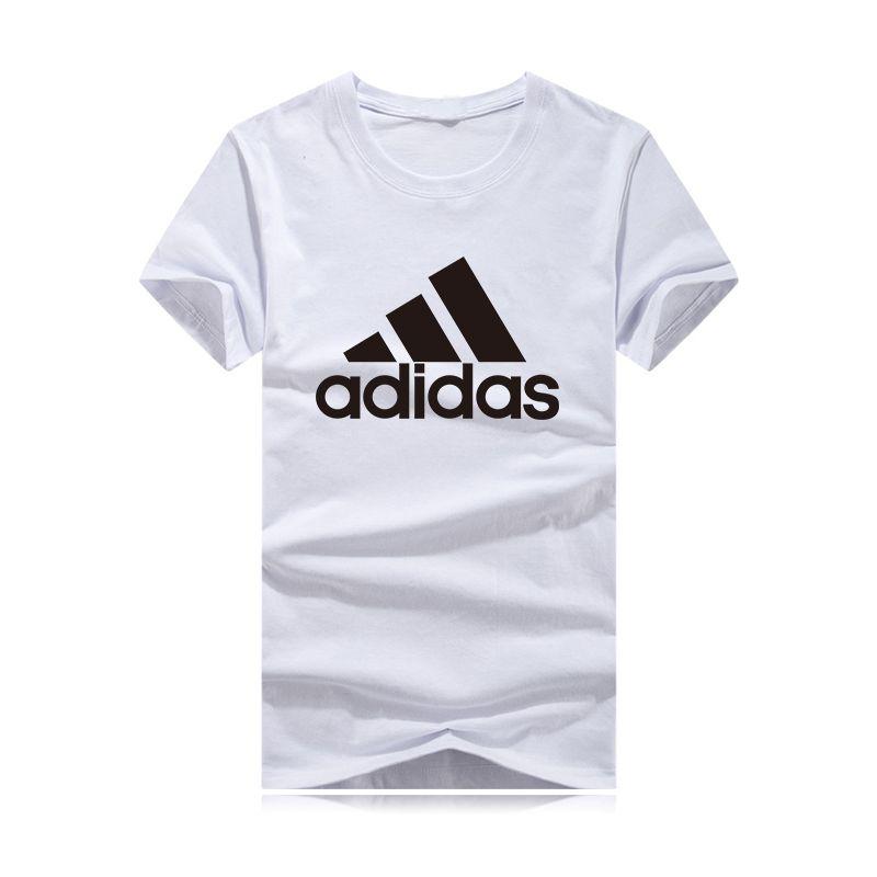fd0c19427a7a8 Compre Nuevo Triángulo Grande LOGO Marca Hombres Camisetas 2018 Ropa De  Verano Con Diseñador Camisetas De Manga Corta Camisetas De Moda Camisas  Masculina A ...
