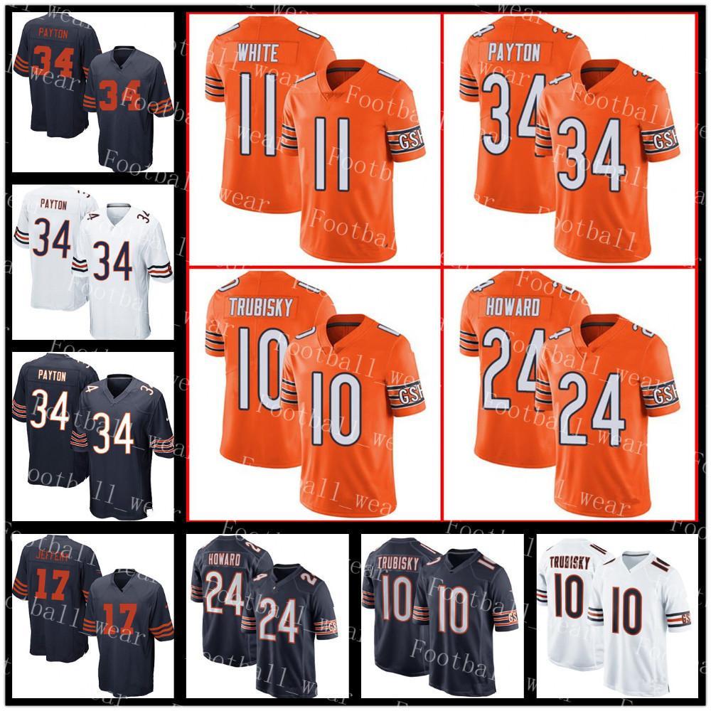 32960c93964 ... ireland 2018 chicago bears jersey 34 walter payton 24 howard 23 kyle  fuller 11 kevin white
