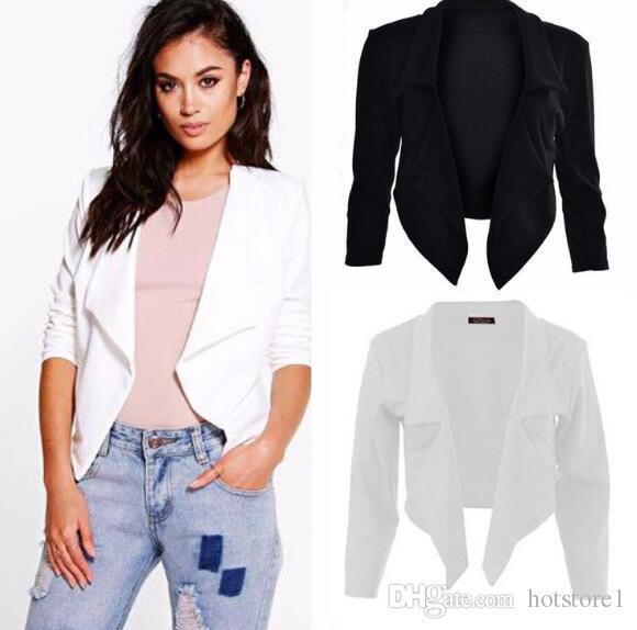 ae5c3f2f6ad12 Creative Fashion Simple Temperament Jacket Coat Explosion Models ...