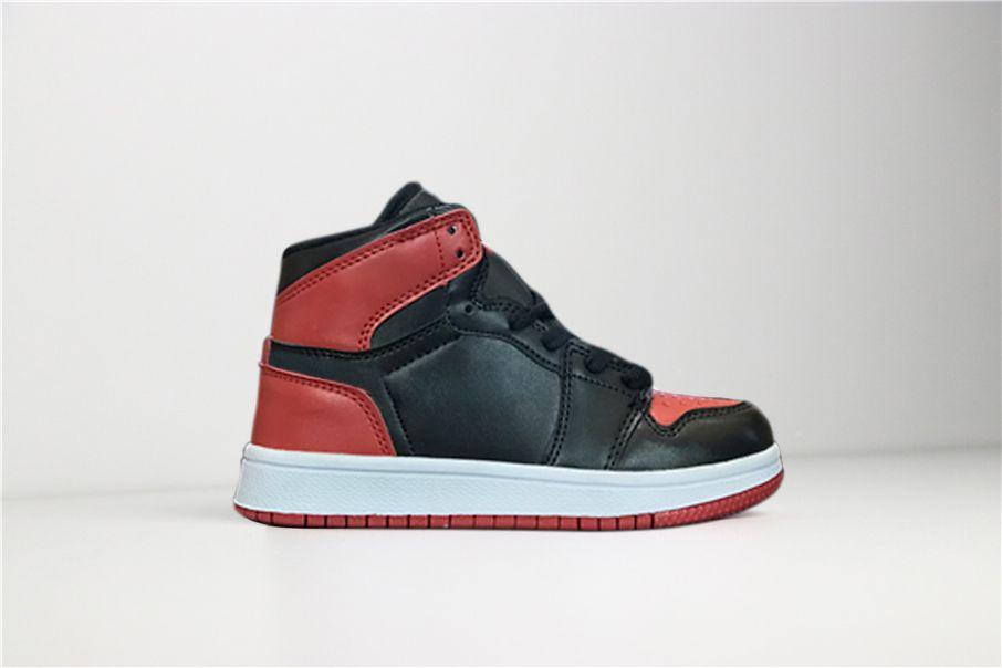 Compre Nike Air Jordan 1 Retro Firmado De Forma Conjunta High OG 1 1s Niños  Zapatos De Baloncesto Para Niños Chicago New Born Bebé Para Niños Pequeños  ... e3d72d620