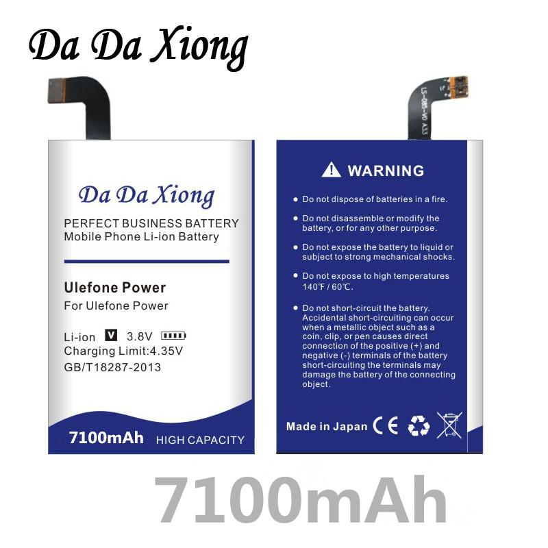 In Stock Battery For Oukitel K6000 Pro For Ulefone Power For Doogee T6 Pro Cellphone Bateria Cellphones & Telecommunications Tracking Number Mobile Phone Parts
