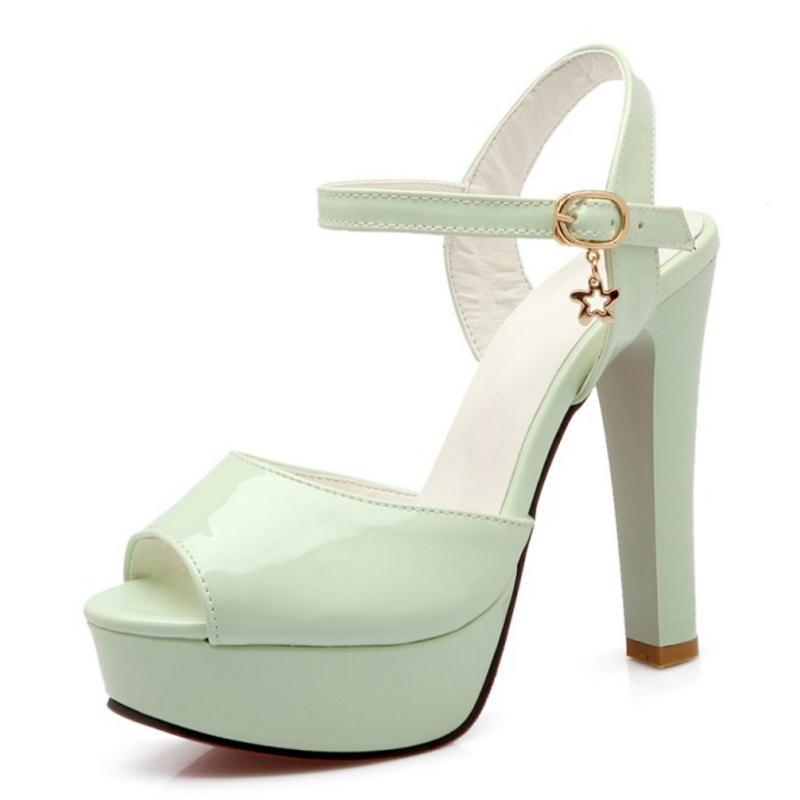 e4842549936 Women Shoes Women Sandals High Heeled Platform Peep Toe Ankle Wrapped Trend  Fashion Casual Sexy Summer Shoes Size 33 43 High Heels Heels From  Wujun56700