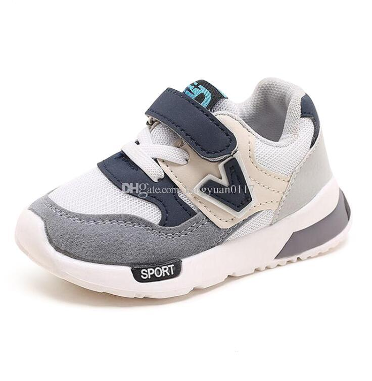 Invierno Antideslizantes Para Moda Niños Niñas Zapatos Zapatillas Deportivos Netos Nueva Otoño Transpirable L5j3A4R