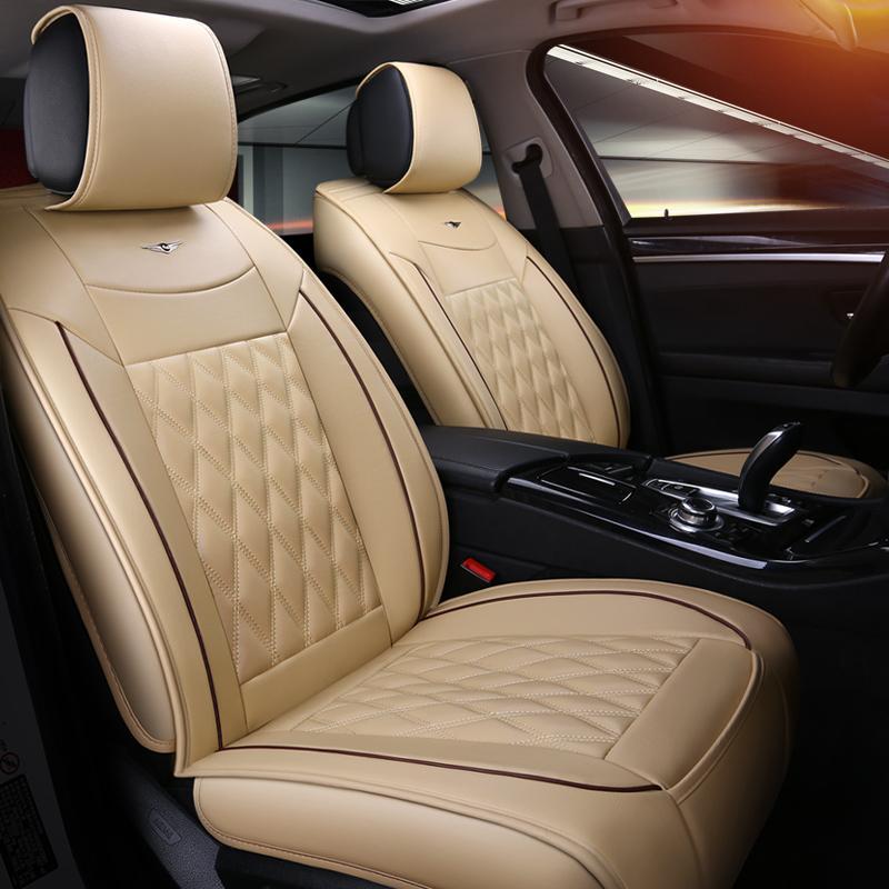 Universal Car Seat Cover Luxury Protector For Toyota Prius Venza Corolla RAV4 Camry Estima Previa Land Cruiser Prado Best Auto Covers