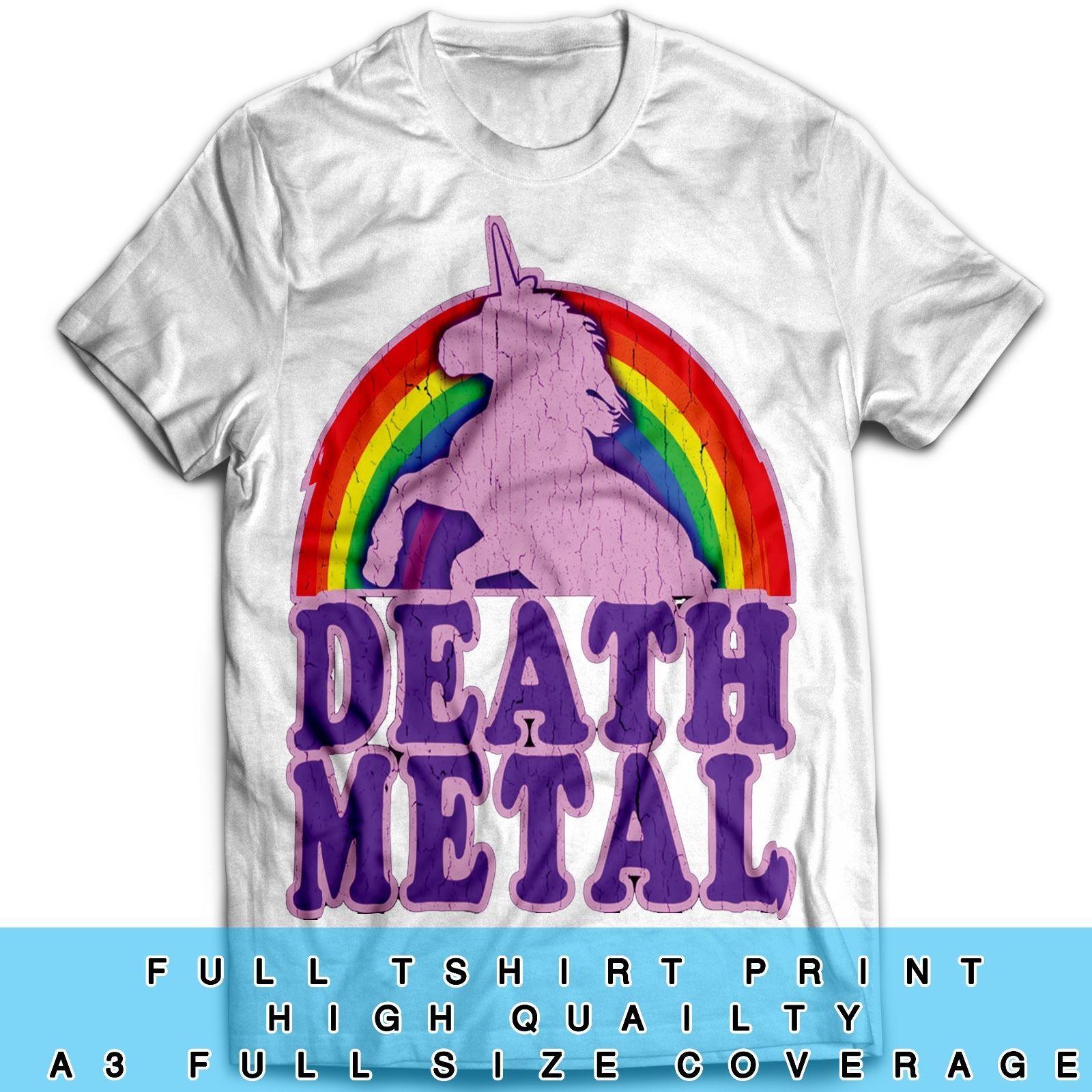 Death Metal Inspired Tumblr Unicorn The Rock Motorcycle Biker