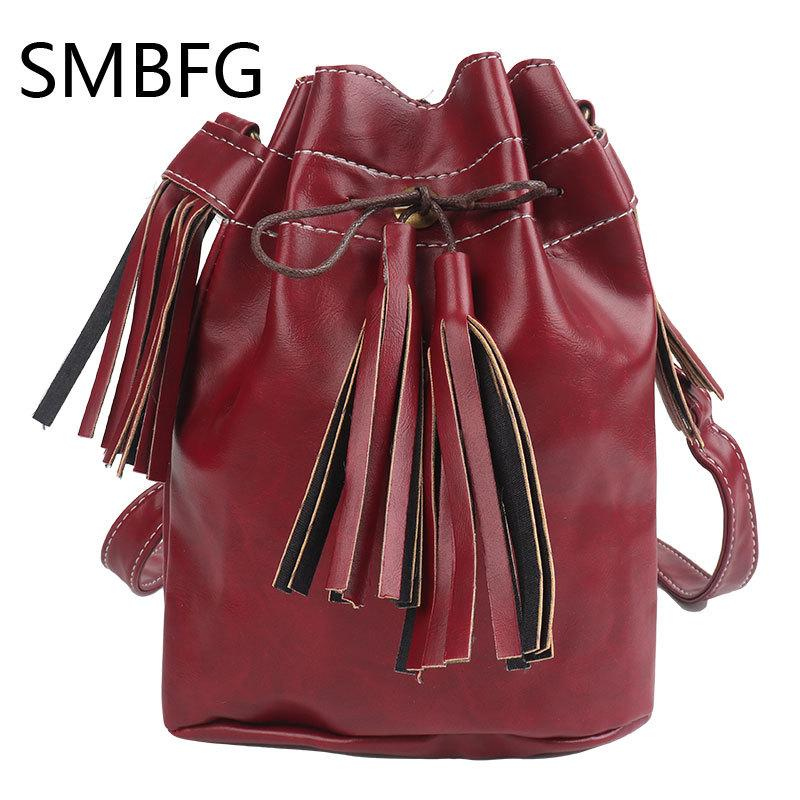 f27e51b77e94 Leather Oval Handbag Cheap Crossbody PU Handbags Organizer Small Cute  Bucket Bag Messenger Women Feminina Bags Bolsos 2017 New Ladies Purses Tote  Handbags ...
