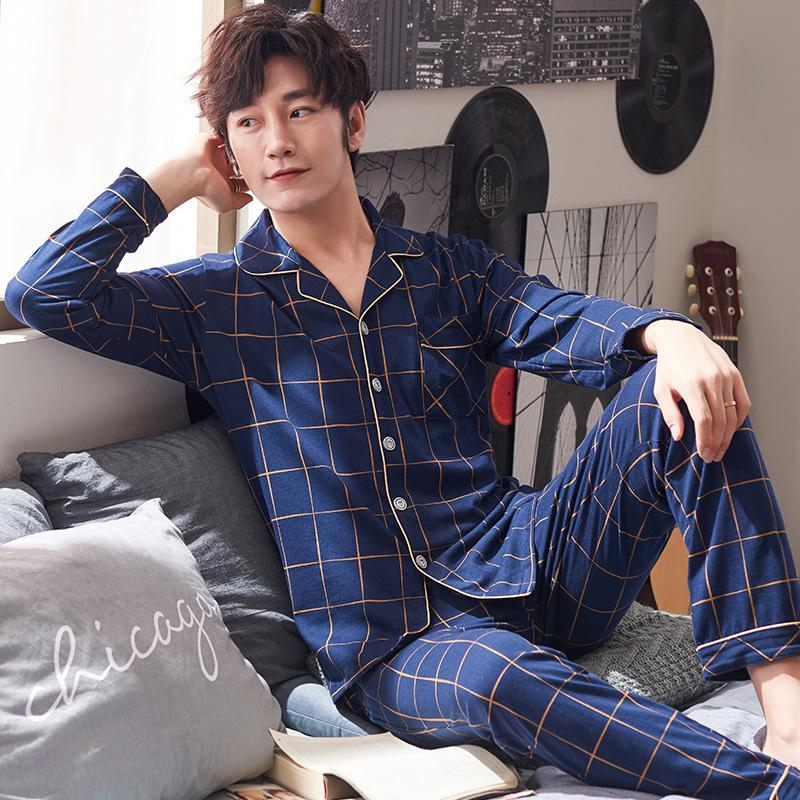 Underwear & Sleepwears Popular Brand Free Shipping Mens Plus Size Short Sleeve Shorts V Collar Sleepwear Set Soft 100% Cotton Pajamas Nightgown Summer Homewear 5xl