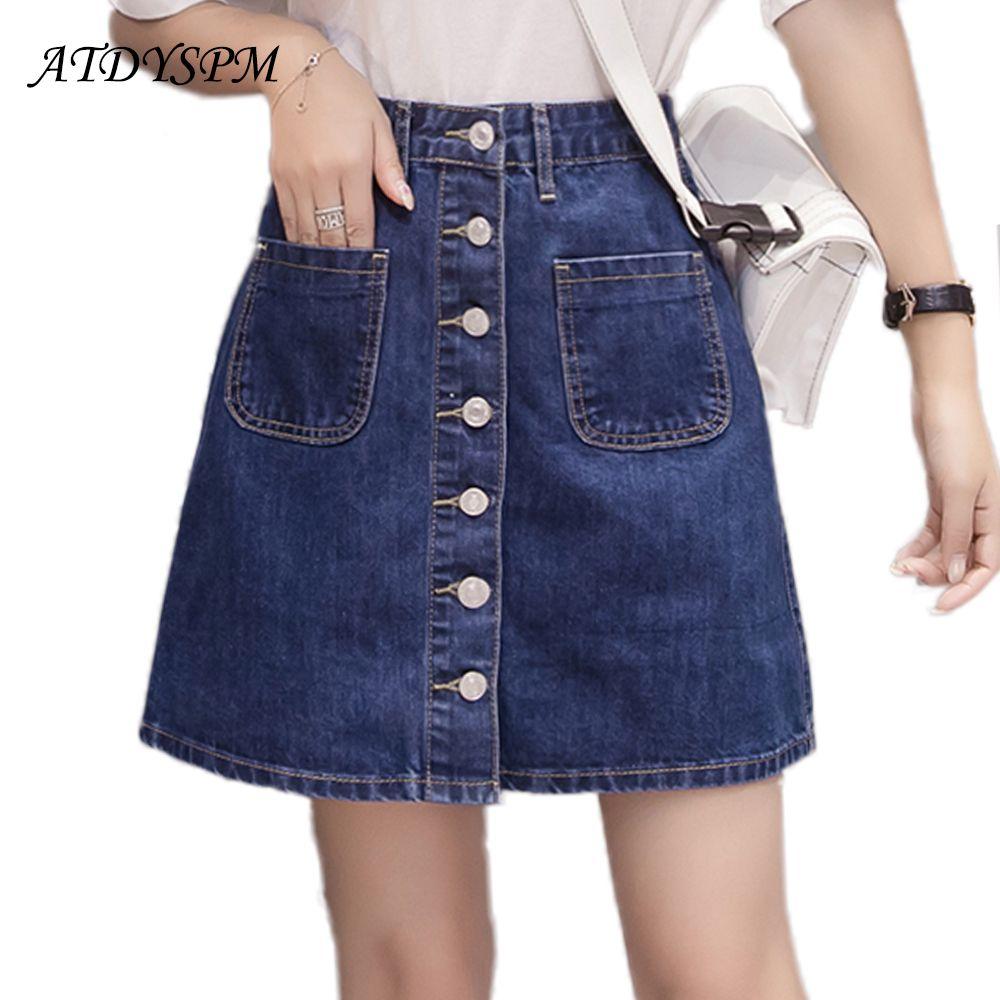 Looks - Mini denim skirts for women video