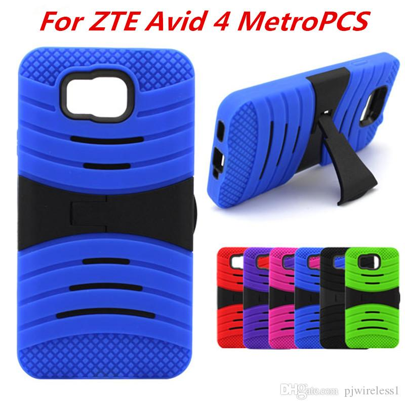 Armor Case For ZTE Avid 4 MetroPCS For LG Aristo 2 Metropcs X210 LV3 II For  LG Tribute Dynasty Rugged Heavy Cases C
