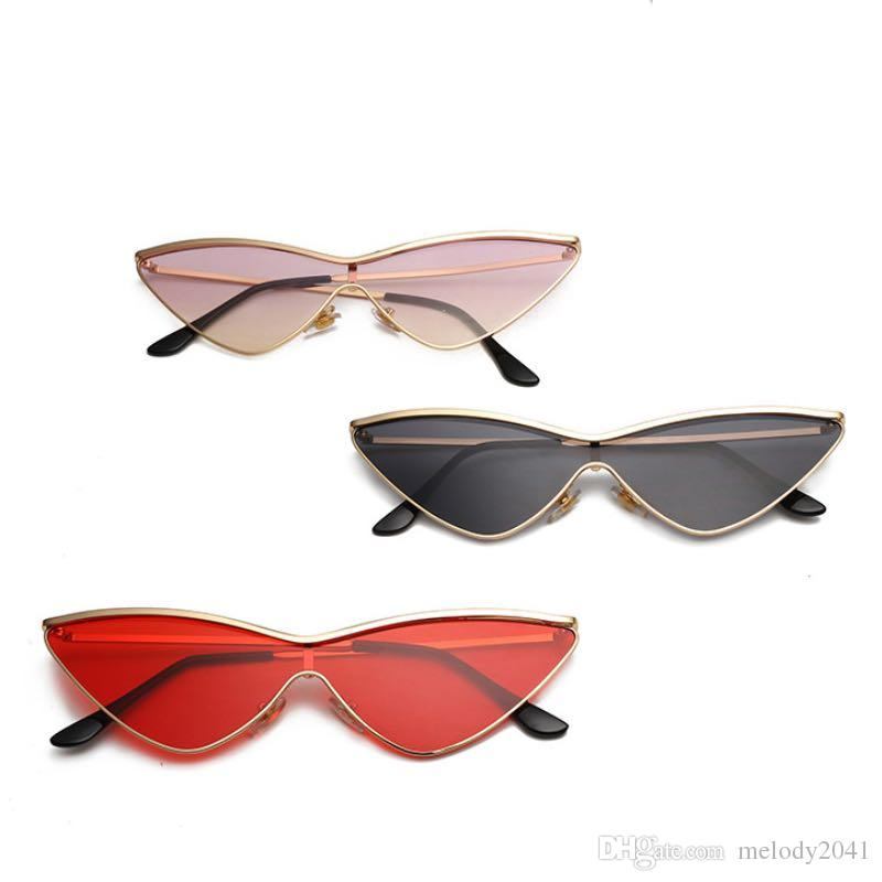 de4d4e3b5399 Hot Sale Triangle Frame Sunglasses Women Cool Design Sun Glasses Colorful  Goggles UV400 Wholesale Glasses Shop Sun Glasses Eyewear From Melody2041,  ...