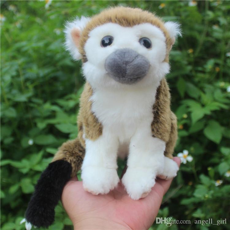 2019 Simulation South American Squirrel Monkey Plush Toy Mini
