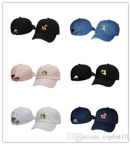 566281b7c17 Top Selling Sad Kermit Tea Cap Frog Pepe Feels Bad Man Embroidery Sun Shade  Snapback Hip Hop Baseball Cap The Sad Meme Frog Hat Hats For Men Hatland  From ...