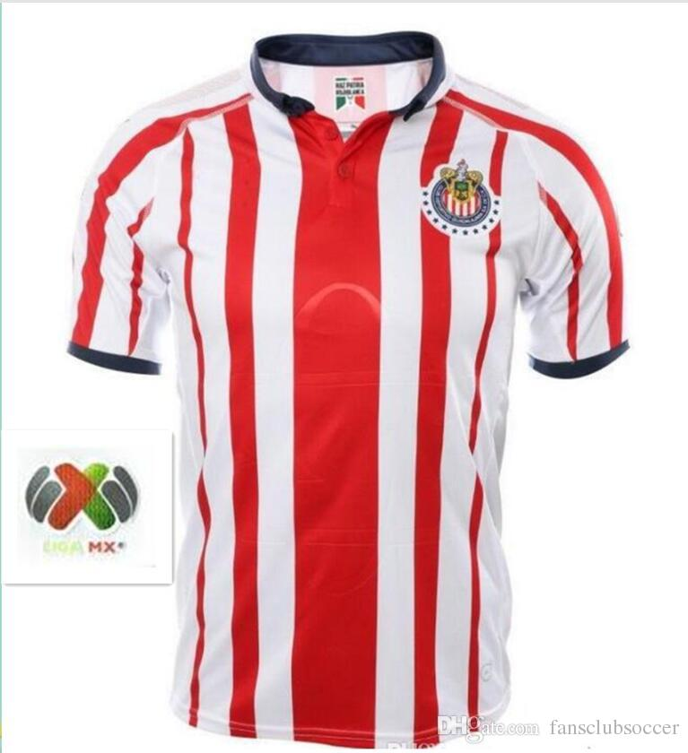 2019 Plus 2XL New 2018 2019 Chivas De Guadalajara Home Away Soccer Jerseys  18 19 Mexico Liga MX Club America Football Shirts From Fansclubsoccer e98c239e8f7b2