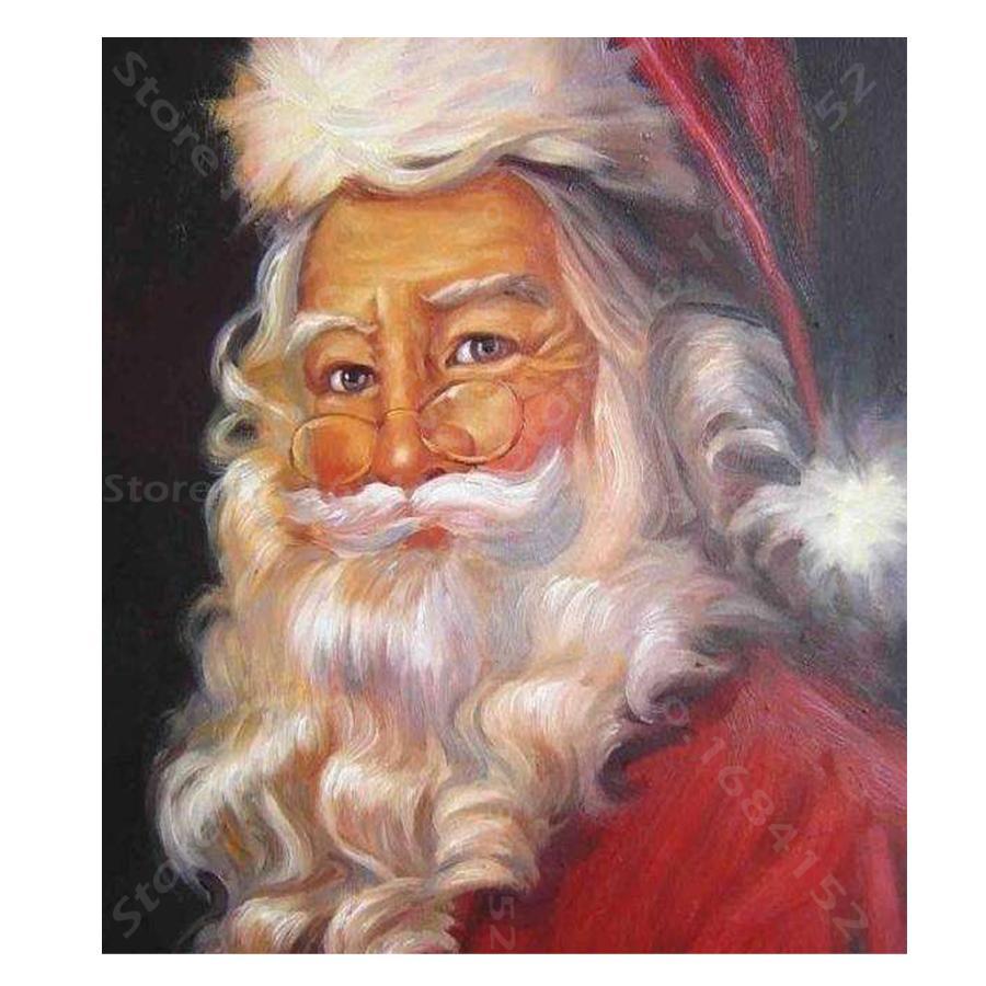 5d Diy Diamond Painting Christmas Santa Claus Diamond Embroidery