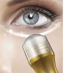 NOVA CHEGADA 24 K Ouro Colágeno Creme Para Os Olhos Deslizante Bola Essência Olho Revitalizante Soro Remover Círculo Bolsa Hidratante Endurecimento