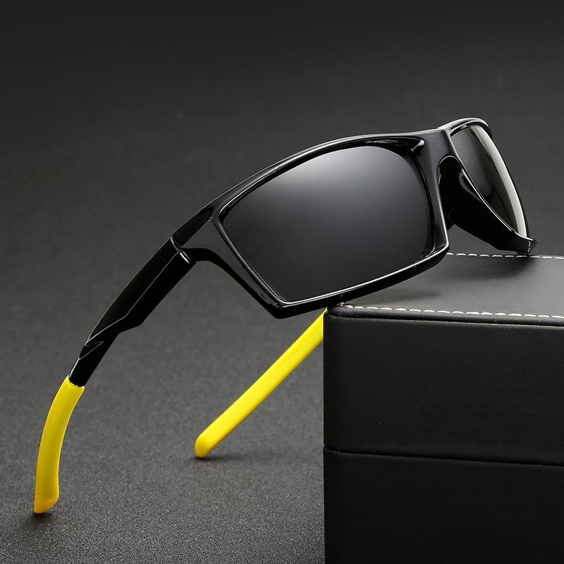 0ce3bc51d27 D TCOOLFLY New Polarized Sports Sunglasses Polarized Brand Designer Fashion  Driving Sunglasses Black Goggle Glasses For Man 1005 Mens Sunglasses Police  ...