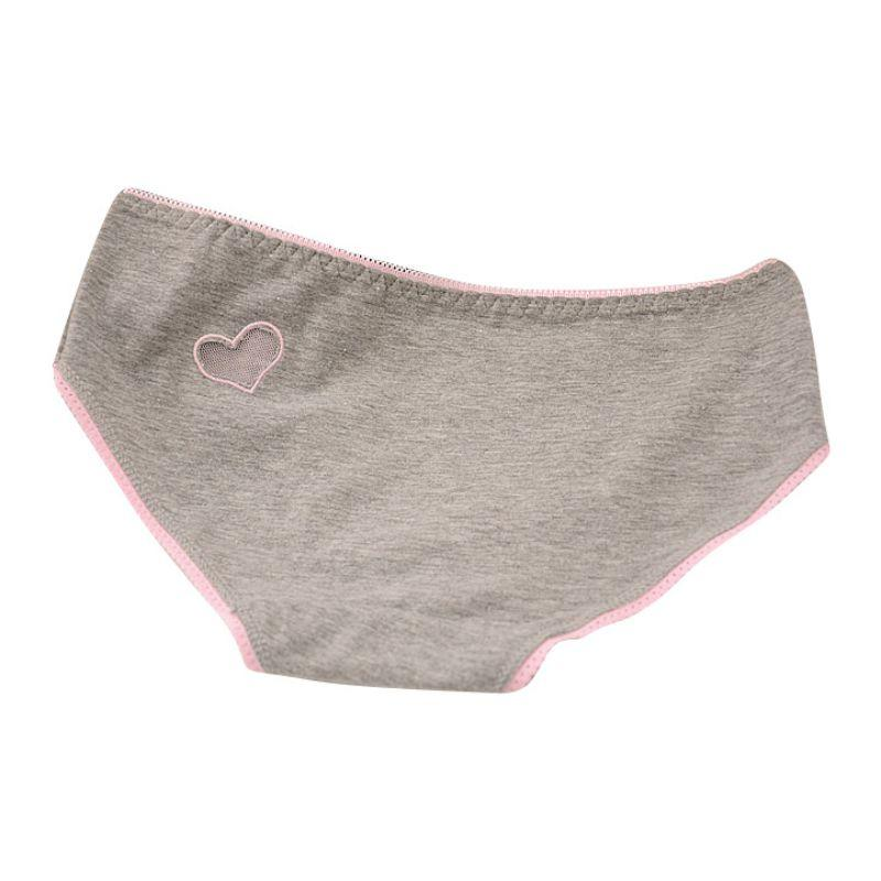 Cotton Briefs Solid Hollow Out Heart Underwear Lovely Cute Sexy Women Panties New Sale