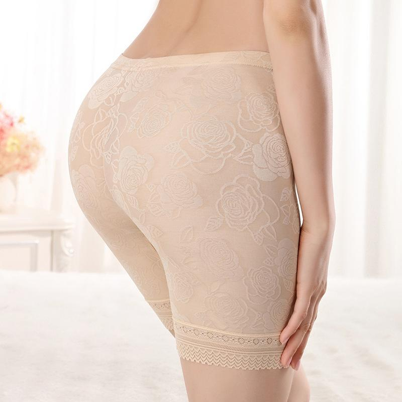 477415e482ed 2019 Safety Short Pants Women Boyshorts Pants Lace Seamless Shorts Plus  Size Women Safety Silk Underwear Boxer Panties From Tielian, $34.7 |  DHgate.Com