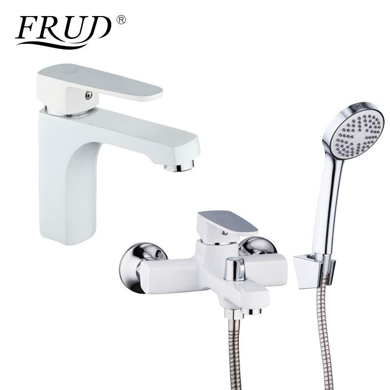 Satın Al Frud Klasik 1 Takım Ile Beyaz Spary Boyama Banyo Küvet Duş
